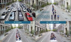 Different Modes Streetspace